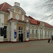 Железнодорожная станция  Molodechno