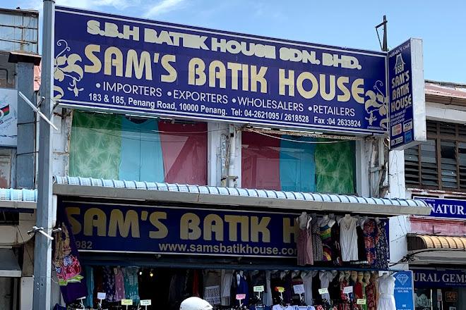 Sams Batik House, Penang Island, Malaysia