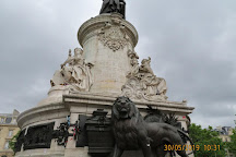 Place de la Republique, Paris, France