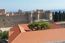 Roloi Clock Tower, Rhodes Town, Greece