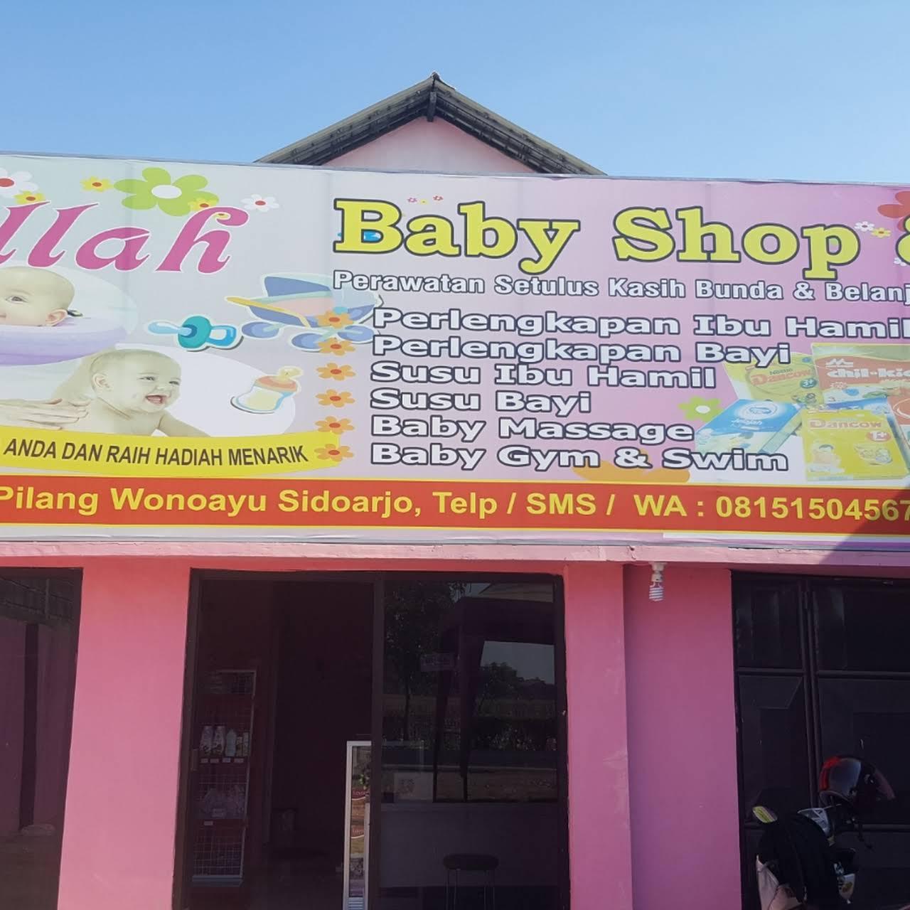 Contoh Desain Banner Baby Shop