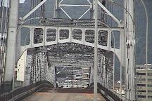 Hercilio Luz Bridge, Florianopolis, Brazil