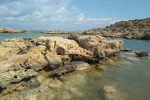 Aspri Limni Beach, Elafonissi, Greece