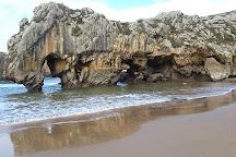 Playa de Cuevas del Mar, Nueva de Llanes, Spain