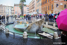 Barcaccia Fountain, Rome, Italy