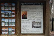 Falling Springs Waterfall, Covington, United States
