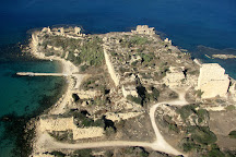 Crusader Fortress Ruins, Tiberias, Israel