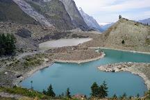 Lago Combal, Courmayeur, Italy