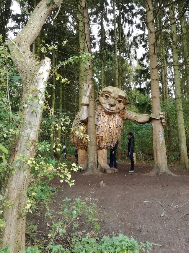 Thomas Dambo Sculpture