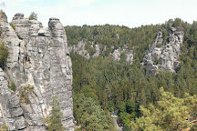 Elbe Sandstone Mountains, Bad Schandau, Germany