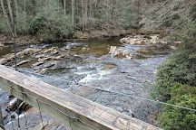Toccoa River Swinging Bridge, Blue Ridge, United States