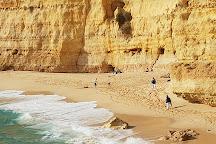Vale de Centeanes Beach, Carvoeiro, Portugal