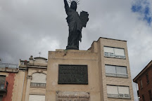 Estatua de la Libertad, Cenicero, Spain