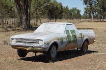 Utes In The Paddock, Ootha, Australia