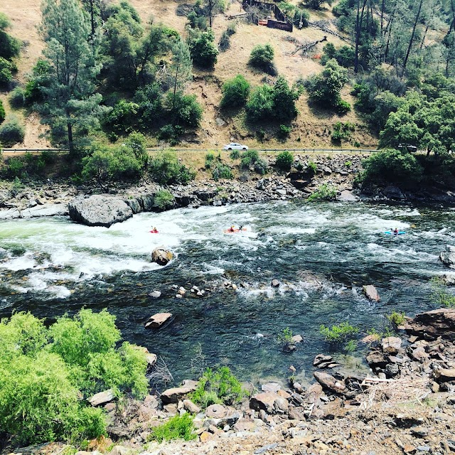 Merced River view point