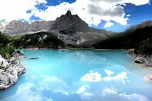 Lago di Sorapiss, Cortina d'Ampezzo, Italy