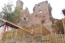 Hanstein Castle (Burgruine Hanstein), Bornhagen, Germany