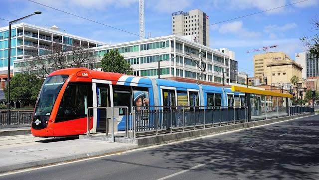 Stop Tram Botanic Gardens