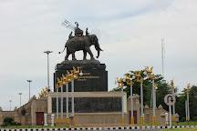 King Rama I Monument, Buriram, Thailand