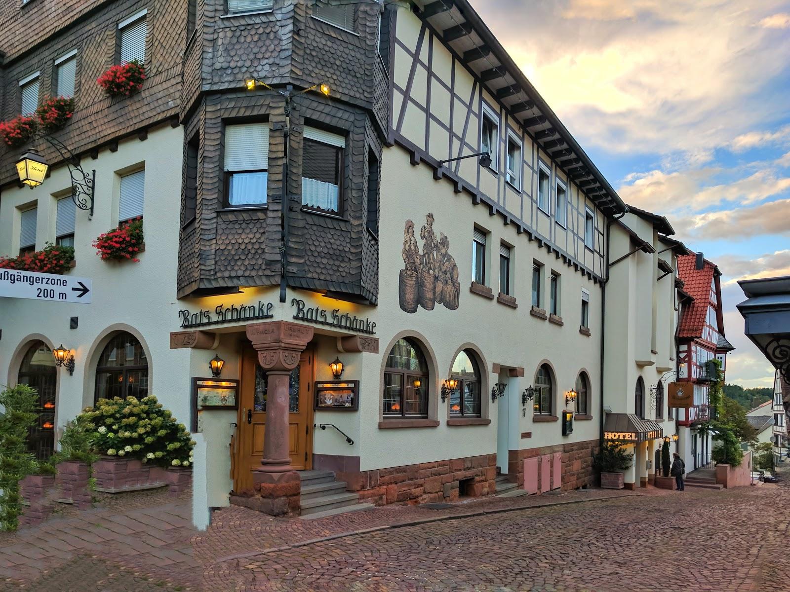 Relais & Châteaux Hotel Die Sonne Frankenberg Karte - Hunsrück ...