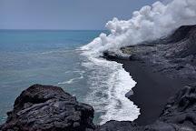 Lava Viewing Area, Kalapana, United States