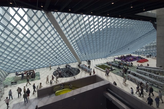 List item Seattle Public Library-Central Library image
