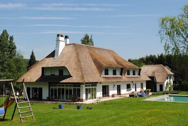 Rieten daken Raggers - Toits de chaume