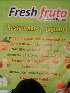 JUGUERIA FRESH FRUTA 0