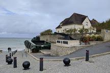 Remains Mulberry Harbour, Arromanches-les-Bains, France