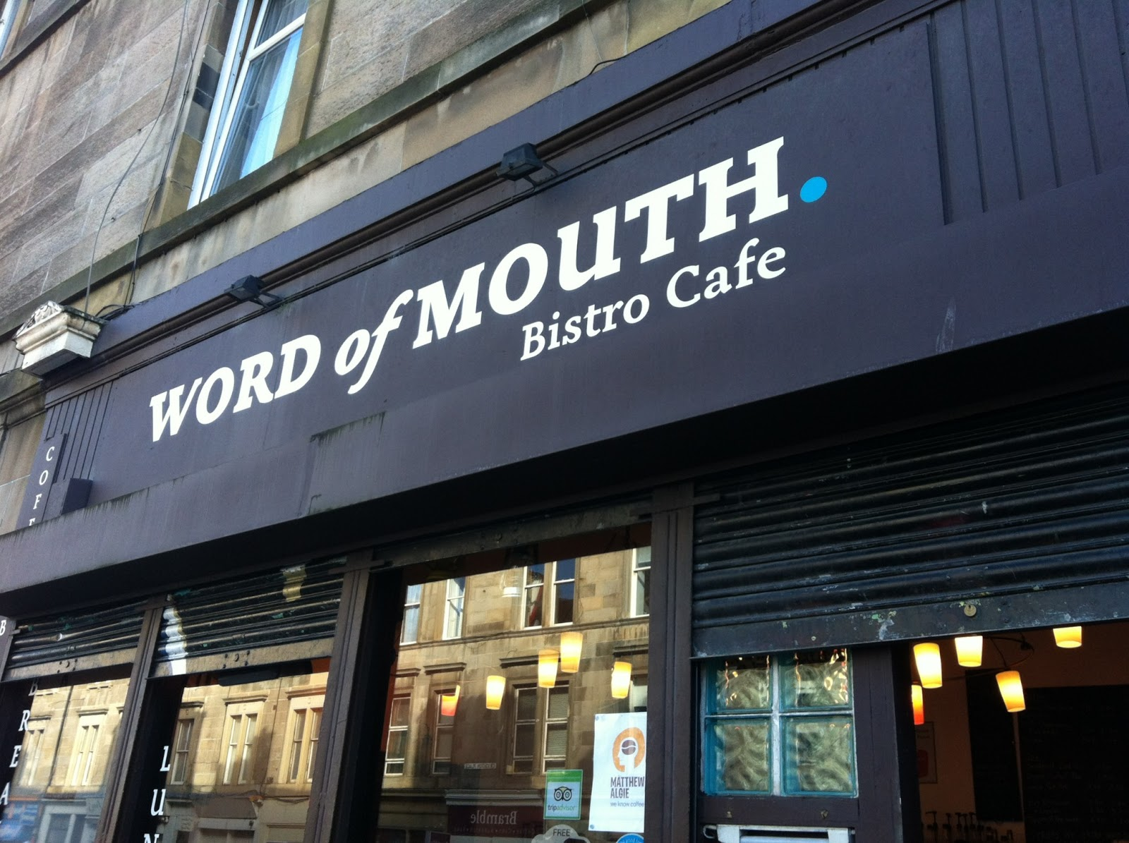 Word Of Mouth: A Work-Friendly Place in Edinburgh