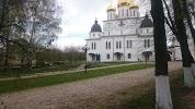 Памятник Кириллу и Мефодию на фото Дмитрова