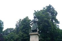 Monumento ad Antonio Stoppani, Milan, Italy