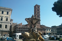 Fontana Dei Tritoni, Rome, Italy