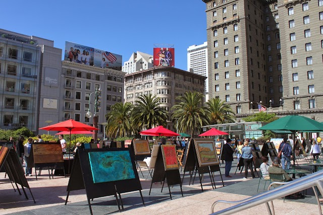 Union Square, san fransisco