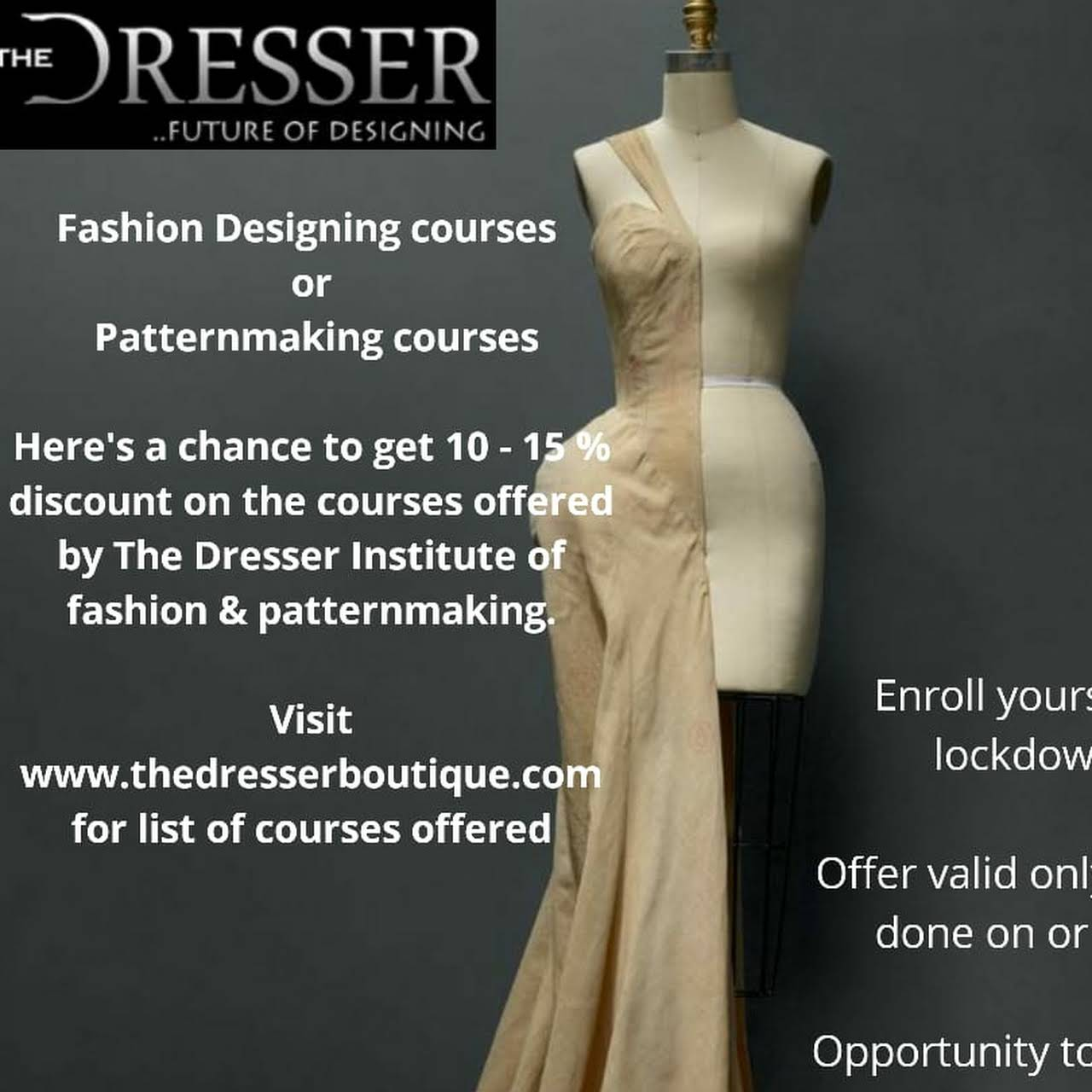 The Dresser Institute Of Fashion Designing Patternmaking Fashion Design School In Bengaluru