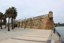 Murallas de San Carlos, Cadiz, Spain
