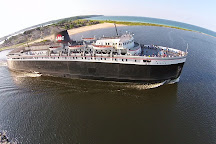 S.S. Badger: Lake Michigan Carferry, Ludington, United States