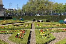 Jardin de l'Hotel de Sens, Paris, France
