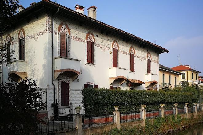 Villa Albrighi, Milan, Italy
