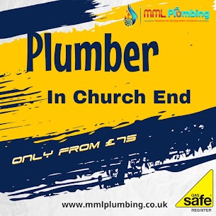 plumber in Church End