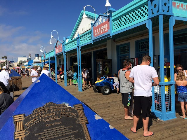 Santa Monica Pier Historical Plaques