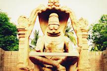 Statue of Ugra Narsimha, Hampi, India
