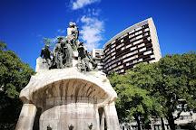 Placa Tetuan, Barcelona, Spain