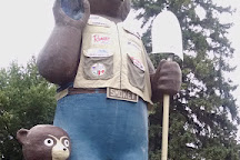 Smokey Bear park, International Falls, United States