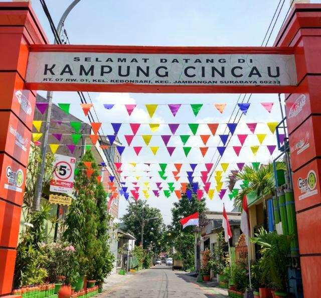 Eco Wisata Kampung Cincau Surabaya