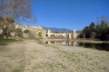 Bridge of Besalu, Besalu, Spain