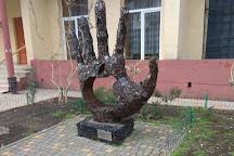 Monument to Steve Jobs 'Thanks, Steve', Odessa, Ukraine