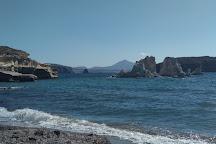 Mavrospilia Beach, Kimolos, Greece