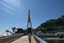 Rio Fuengirola Pedestrian Bridge, Fuengirola, Spain