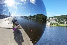 Ypsilon Bridge, Drammen, Norway
